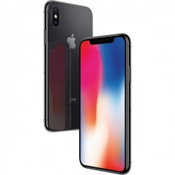 Apple iPhone X 256GB Srebrny/Czarny 24H GW