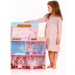 NOWOŚĆ Duży domek dla lalek ARMANI - (SW1739)