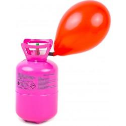 Butla z helem 0,25 m3 na 30 szt. balonów + balony w zestawie