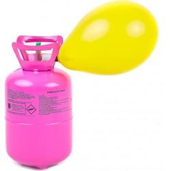Butla z helem 0,42 m3 na 50 szt. balonów + balony w zestawie
