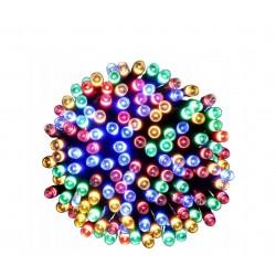 LAMPKI CHOINKOWE 100 LED różnokolorowe