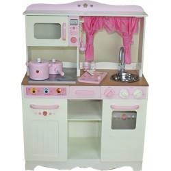 Kuchnia drewniana dla dzieci RETRO COOKER LONG (W10C058)