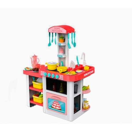 DUŻA Kuchnia plastikowa interaktywna HOME KITCHEN - (HM824932)