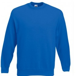 Bluza Fruit of the Loom SET-IN SWEAT Royal Blue
