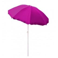 Parasol plażowo - ogrodowy NYLON MC180N 180 cm Violett