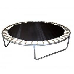 Chiemsee mata do skakania trampolina 430 cm 14ft 80 sprężyn
