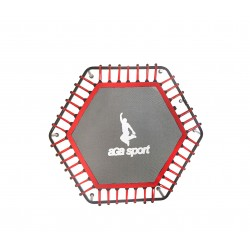 Mata do skakania fitness trampolina 130cm Red