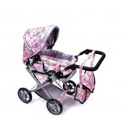 Wózek dla lalek 9346/ M1303 grey