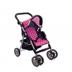 Wózek dla lalek sportowy 9352/ B1508 Dark Blue