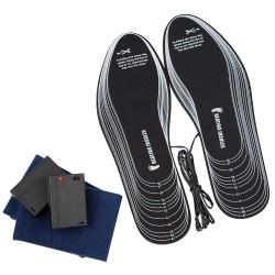 Podgrzewane wkładki do butów UNIWERSALNY rozmiar 36-47