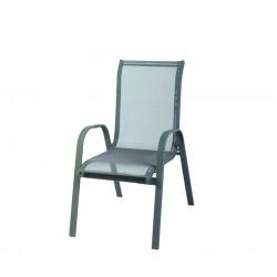 Krzesło ogrodowe ALU STAPEL MC MC330876 - Grey