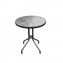 Szklany stół ogrodowy71x60 BISTRO 2019 - MC330850DG