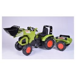 Traktor na pedały z przyczepką FALK Class Axos 330 - 1011AM
