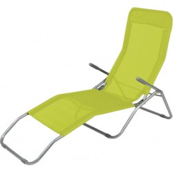 Leżak SIESTA Linder Exclusiv MC372171GG Yellow Green