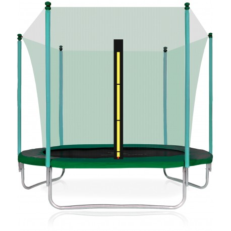 Trampolina ogrodowa aGa SPORT FIT 305 cm (10 ft) z siatką wewnętrzną