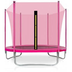 Trampolina ogrodowa aGa SPORT FiT 305cm 10ft Pink