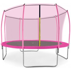 Trampolina ogrodowa aGa SPORT FIT 366 cm 12ft Pink