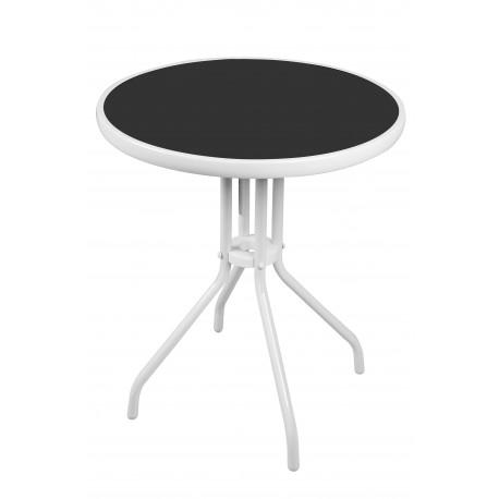 Szklany stół ogrodowy 70x60 BISTRO MC330850WB