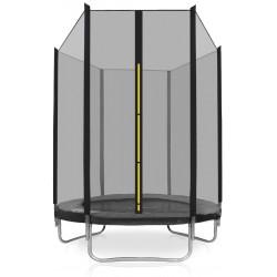 aGa SPORT INDOOR Trampolina 140 cm wewnętrzna - BLACK