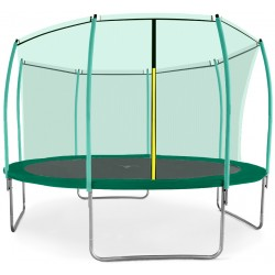 Trampolina ogrodowa aGa SPORT FIT 366 cm (12 ft) z siatką wewnętrzną