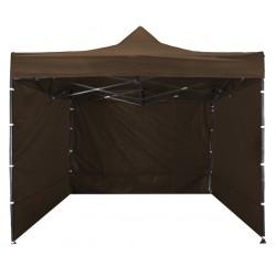 Namiot ekspresowy handlowy ogrodowy aGa 3x3 m 3S PARTY - Brown