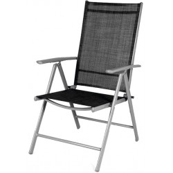 Krzesło ogrodowe Linder Exclusiv 7-WAY MC5000S Black