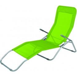Leżak SIESTA Linder Exclusiv MC372171LG Lime Green