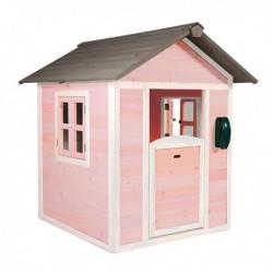 Ogrodowy domek cedrowy LODGE Pink