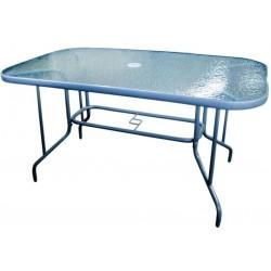 Szklany stół ogrodowy MILANO