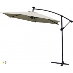 Parasol ogrodowy 300 cm aGa LED EXCLUSIVE
