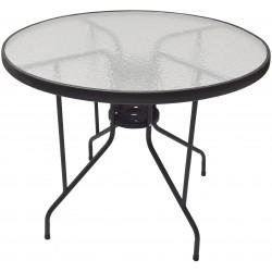 Szklany stolik ogrodowy DIA