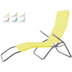 Leżak SIESTA aGa 102C Yellow