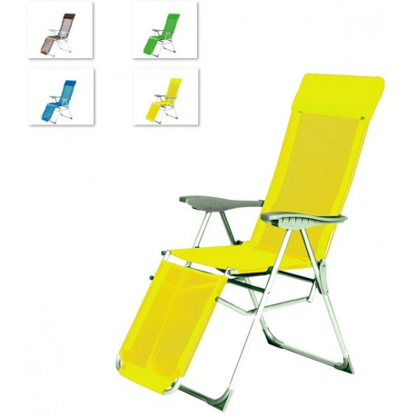Krzesło składane regulowane aGa RELAX 5 - WAY