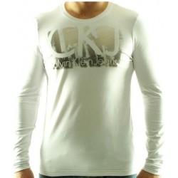 Koszulka długi rękaw CALVIN KLEIN Blanc