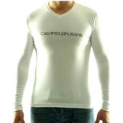 Koszulka długi rękaw CALVIN KLEIN Blanc cmp467n