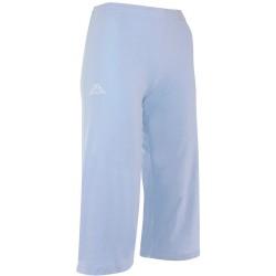 Spodnie 3/4 treningowe damskie KAPPA GATAS Clear Blue