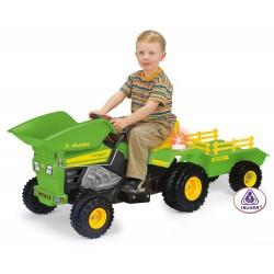 Traktorek elektryczny INJUSA DUMP TRACK 637