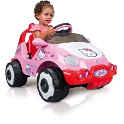 Samochód elektryczny INJUSA RACING CAR HELLO KITTY 71014
