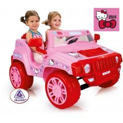 Samochód elektryczny INJUSA TWO EVASION HELLO KITTY 7534