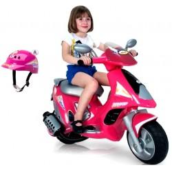 Motorek elektryczny INJUSA SCOOTER DUO GIRL 6V 6862