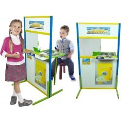 Bank drewniany zestaw do zabawy dla dzieci