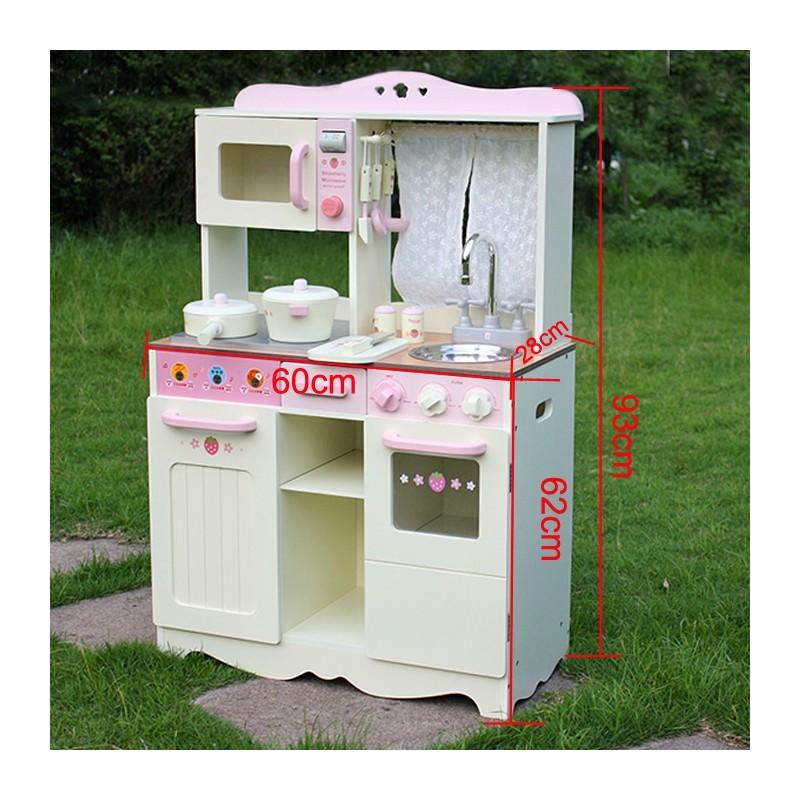 kuchnia drewniana dla dzieci retro cooker w10c058a