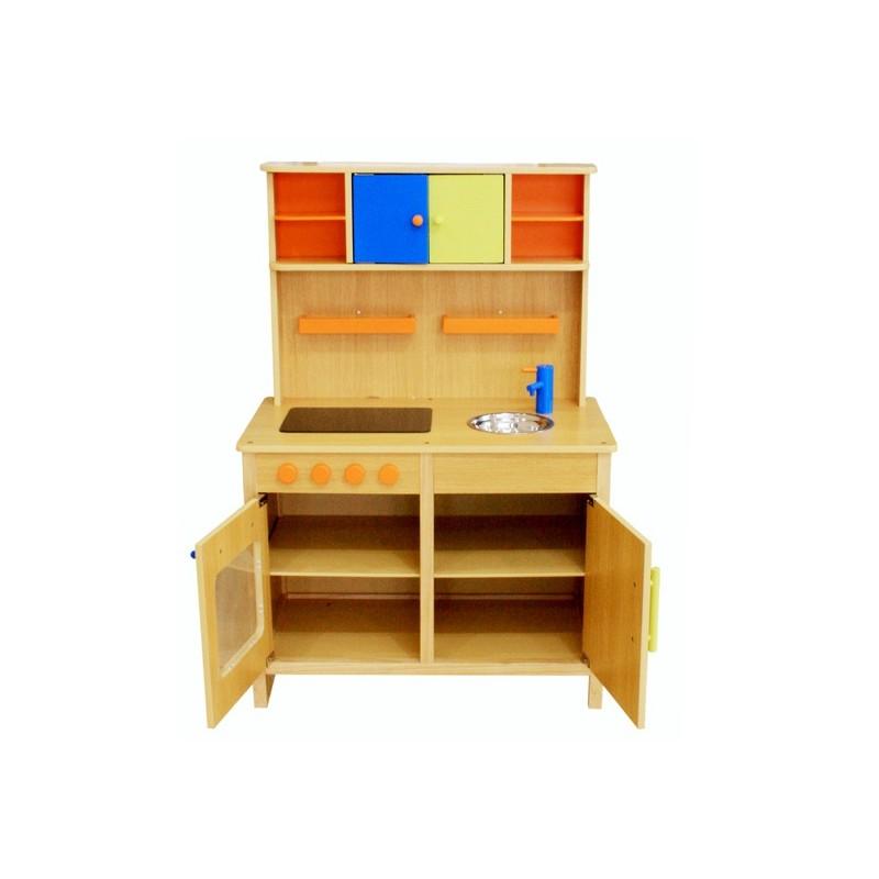 Kuchnia drewniana dla dzieci PEACH (W10C038)  Trampolinowo pl