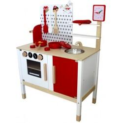 Kuchnia drewniana dla dzieci ASHLEY  (W10C035)