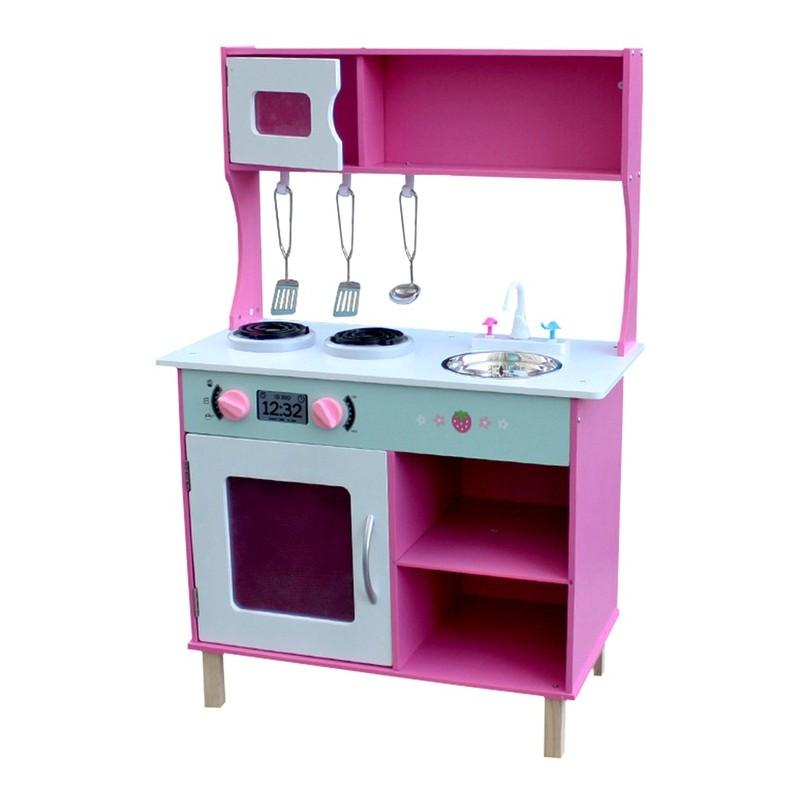 Kuchnia drewniana dla dzieci CINDY (W10C168)  Trampolinowo pl -> Kuchnia Dla Dzieci Najtaniej