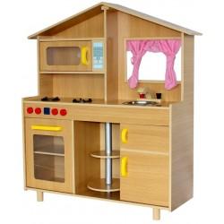 Kuchnia drewniana dla dzieci COTTAGE  (W10C015C)