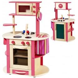 Kuchnia drewniana dla dzieci DELICATES COOKIES  (W10C100)