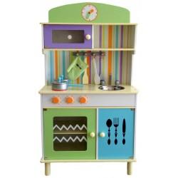 Kuchnia drewniana dla dzieci KALEY  (W10C026G)