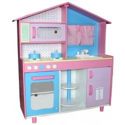 Kuchnia drewniana dla dzieci LAUREN  (W10C015L)