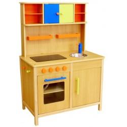 Kuchnia drewniana dla dzieci PEACH (W10C038)